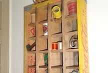 Crate Displays / by Hammack's Wood-N-Cloth Crafts