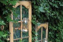 Old Windows / by Hammack's Wood-N-Cloth Crafts
