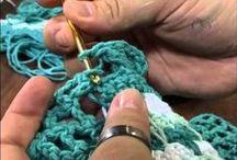 """""""How-to"""" crochet, knit, sew / by Regina Daisy"""