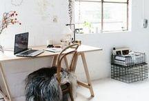 Interiors    studio, library & reading corner / by Alice    T h e P e p p e r m i n t L a n d