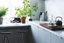 Interiors || kitchen & dining room / by Alice || T h e P e p p e r m i n t L a n d