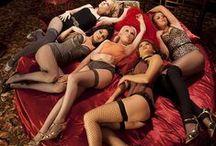 Pin Up, Burlesque, Glamour Models / Pin Ups, Burlesque, Nose Art, Calendar Girls, Lingerie Models, Swimsuit Models, Glamour Models / by Warren W