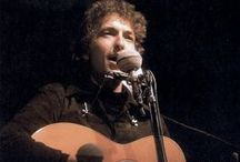 "★BOB DYLAN Blowin' in the wind / BOB DYLAN (born Robert Allen Zimmerman, May 24, 1941) is an American singer-songwriter, artist, and writer. He has been an INFLUENTIAL figure in popular music and culture for more than 5 decades. Much of his most celebrated work dates from the 1960s, when he was both a chronicler and a reluctant figurehead of social unrest. A number of Dylan's early songs, such as ""Blowin' in the Wind"" and ""The Times They Are a-Changin'"", became ANTHEMS for the American civil rights and anti-war movements. / by Stelios ♪ MusicLover"