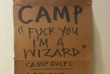 I'd Rather be Camping / Camping / by Elisabeth Gravitt