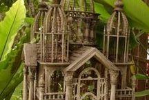 Birdcages, bird houses and bird feeders / by Judi Churchill