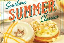 Southern Summer Classics! / Get a taste of the South when you try our Banana Pudding and Carrot Cake Doughnuts! / by Krispy Kreme