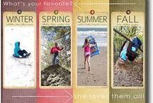 4 Seasons / by Janet Johnson