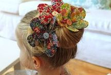 Pretty Bow & Hair Band  / For  You ,Teen , and  Kids / by Nina Smith
