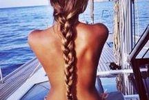 Beach Hair Don't Care /   / by Bikini.com