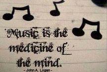 Música♪♫  / A vida não faz sentido, para mim, sem a música pois ela, a divina música revela o ser humano que somos.  Se a música é boa, não importa a época, o estilo, o intérprete... Adoro!  Assim como, admiro tudo o que se refere a essa arte perfeita. / by Constancia de Azevedo
