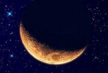 Clair de lune ✯ ☾ ✯ ◯ ✯ ☽ ✯ / ☽ Suavidade, claridade, paz, calma ☾ / by Constancia de Azevedo