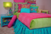 Teen Bedroom Ideas / Fabulous interior design ideas and room decor. Have fun decorating your girls bedroom. Create it together and have fun ! / by Sweet N Sour Kids