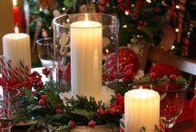 Navidad / Navidad época más hermosa.del año, ideas hermosas encontrarán aquí :-)  / by Mara Soria