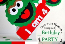 Oscar the Grouch Party Ideas / by Maria Palito
