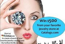 Sizzling Summer BLING Pin-it-to-Win-it / WIN $500 from Catalogs.com! Pin your favorite jewelry stores and catalogs at Catalogs.com on your own board of the sizzling HOT bling that inspires your summer fashion looks. Contest ends August 18th. Good luck! / by catalogs