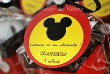 Mickey Mouse Party Ideas / by Maria Palito