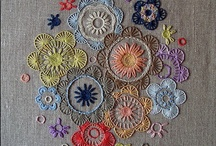 embroidery, knit, crochet / by Kathy Bice