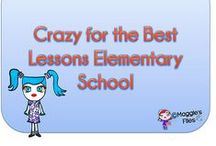 Crazy for the Best Lessons Elementary School / Amazing Teaching Resources for Elementary Schools join us: simsmaggie1@hotmail.com / by Maggies'  Files