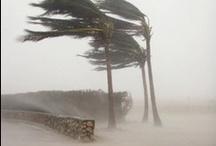 Sky vs the Earth / Storms, Tornados, rain, hail, wind, damage  / by Pamela Brandvold