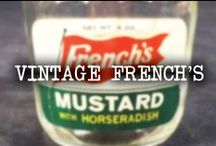 Vintage French's / Retro ads and photos from back in the day. / by French's