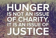 Quotes about Hunger / by Capital Area Food Bank of Texas