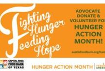 Hunger Action Month  2014 / Hunger Action Month Artwork / by Capital Area Food Bank of Texas