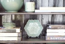 Shelf styling / by Jessica Hendricks