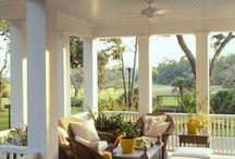 Porch and deck / by Jessica Hendricks