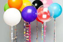 Party balloons / by Jessica Hendricks