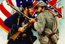 American Civil War / North against South / by Tom Oldham