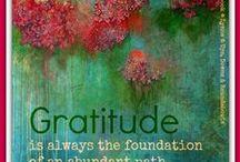 Gratitude and Abundance / by Audrey Carney