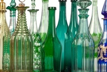 Glass / Glass in every colour and shape at Mallett / by Mallett Antiques