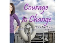 """Courage to Change"" by Elizabeth Maddrey / ""Courage to Change"" by Elizabeth Maddrey. As Phil and Allison work closely together to help a pregnant teen, Allison melts his defenses. But when Brandi discovers Phil's new relationship, she decides that though she doesn't want him, no one else can have him. Can Phil and Allison's love weather the chaos Brandi brings into their lives? / by Chalfont House"