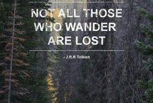 Those Who Wander / by L Vartanian