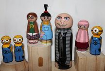 Clothespin/Peg People / by Lauren Jay