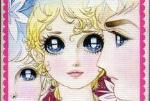 sparkling eyes & shojo illustration / by Mama Mia