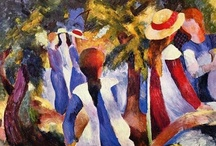 Painters: August Macke / by Philip A. Kelsey