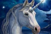 unicorns/pegasus / by Jena Wallace