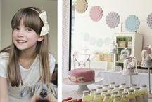 Festas para Meninas / Fiestas para Niñas / by My Paper Factory & Studio