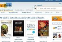 College Textbook Sites / Websites where you can buy, rent and sale books.  / by CityTech Library