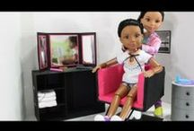 Doll and Everything else for Dolls / Anything you can make for your doll or any accessory for your  doll / by Debbie Lee