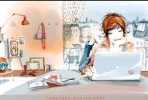 Dibujos / Ilustraciones, dibujos, diseños, lindos / by DanieLa VaLadez