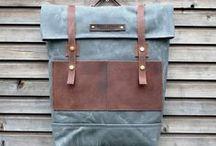 Rucksacks and more / School Girl/ Vintage/ Cavas Backpacks / by Valerie Anne Eclavea