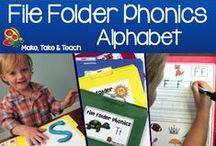 Alphabet / by Make, Take and Teach