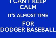 It's Time for Dodger Baseball / by Caroline Moore