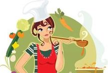 Cooking and Food Tips / by Adrienne Hamilton