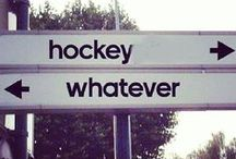 It's in the game  / Hockey hockey hockey! / by Angie