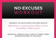 Daily Workout Routine / by Inch By Inch