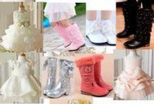 Flower Pageant Party Girl Dress Wear, Shoes & Accessories / Flower Pageant Party Girl Dress Wear, Jewelry, Shoes & Accessories http://www.liquiwork.com/flower-girl-dresses-shoes.html / by Liquiwork.com