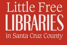 Little Free Libraries in Santa Cruz / Have you heard about this quickly spreading DIY movement? Little Free Libraries operate on the honor system according to a take-a-book and leave-a-book idea. Read more about it at http://littlefreelibrary.org/...Do you know of a little free library not included here? Let us know via Facebook or by emailing the Santa Cruz Public Libraries at elibrary@santacruzpl.org. / by Santa Cruz Public Libraries